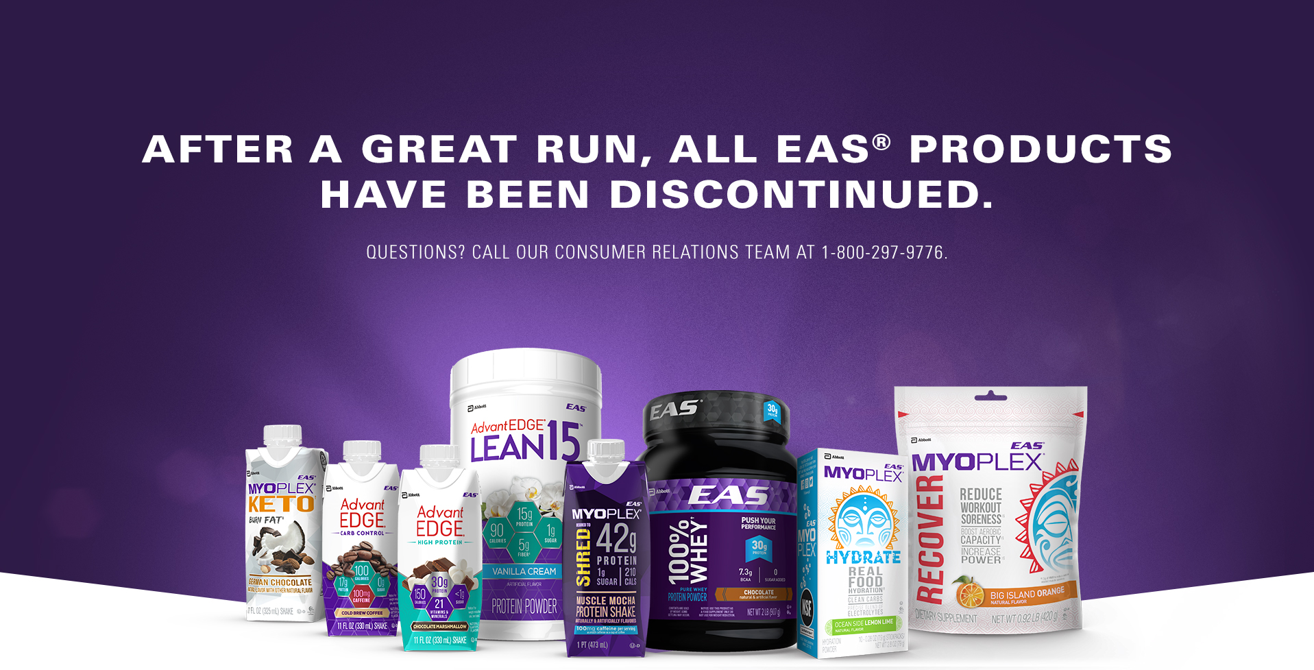 Performance Nutrition Products & Protein Supplements | EAS