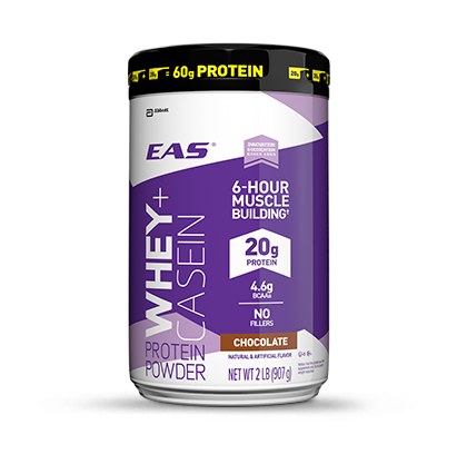 Whey casein protein powder